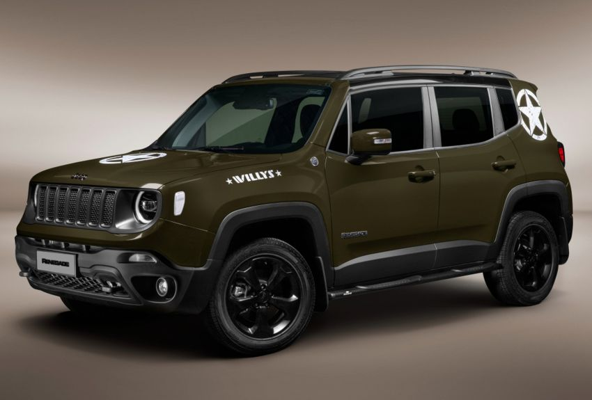 Jeep abre pré-venda do nostálgico Renegade Willys por R$ 146.990